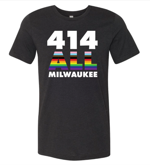 414 ALL MILWAUKEE TEE (PRIDE Edition)