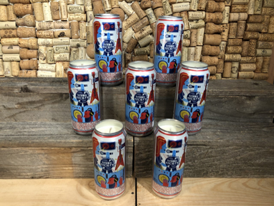 Beer Can Candle- PBR Tall Boy