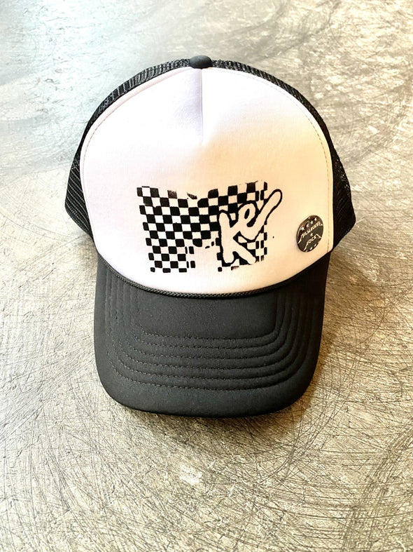 Hat- MKE TV White Trucker Hat