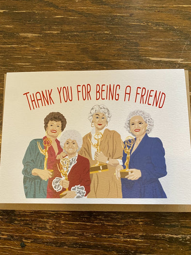 Card-Thanks For Being A Friend