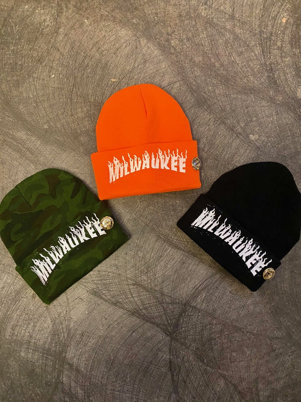 Knit Milwaukee Thrasher Cap