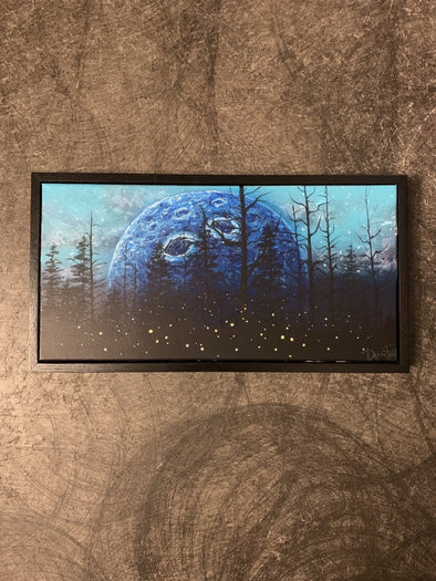 Moonscape Original Acrylic Painting
