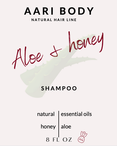 Aloe & Honey Shampoo Available 4-1-21