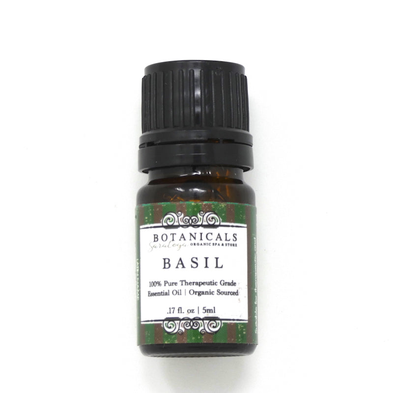 Essential Oil: Basil - Organic