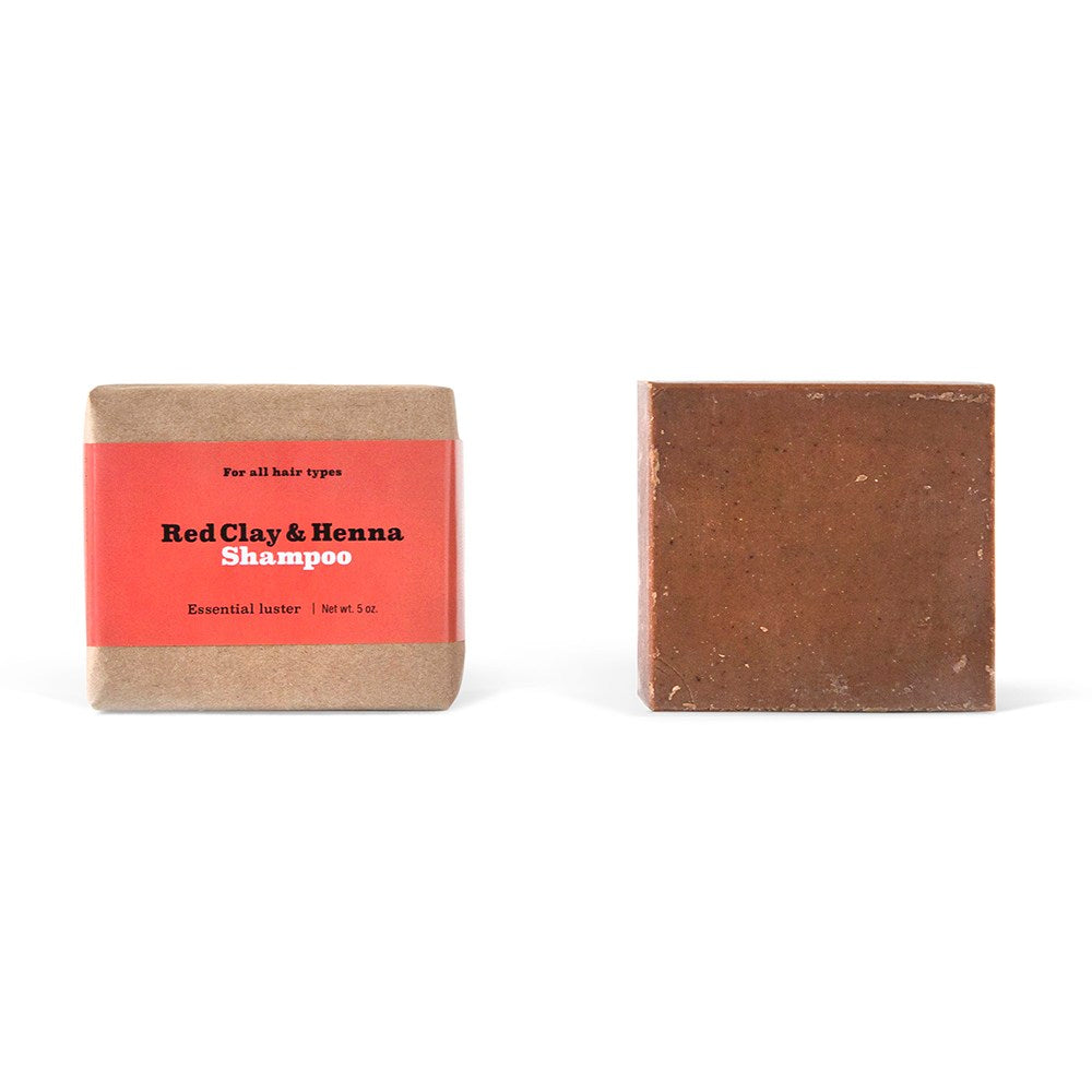 Red Clay & Henna - Shampoo Bar