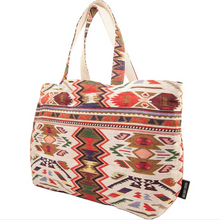 Load image into Gallery viewer, Jacquard Tote w/Matching Clutch