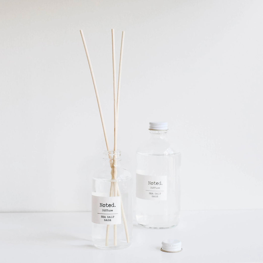 Noted. Sea Salt Reed Diffuser