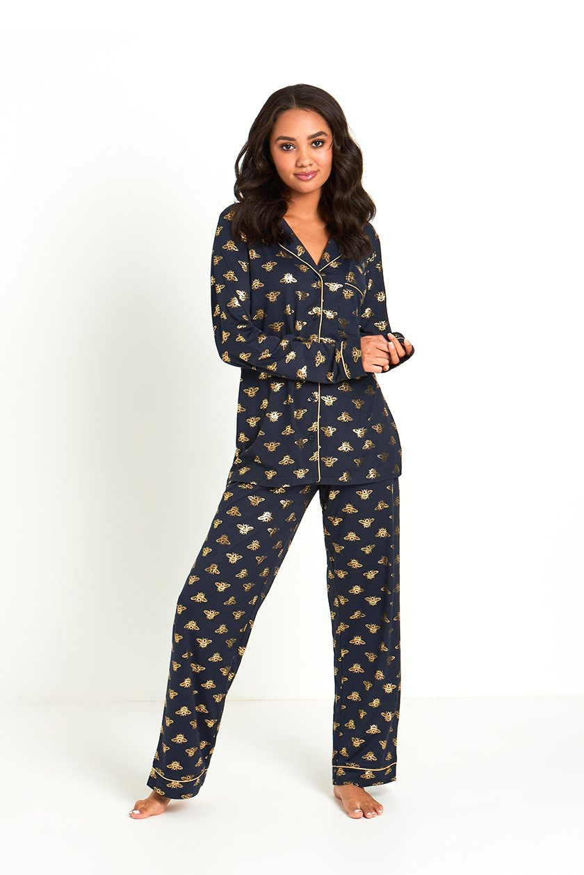 Bumble Bee Pajama Set - Chelsea Peers New York