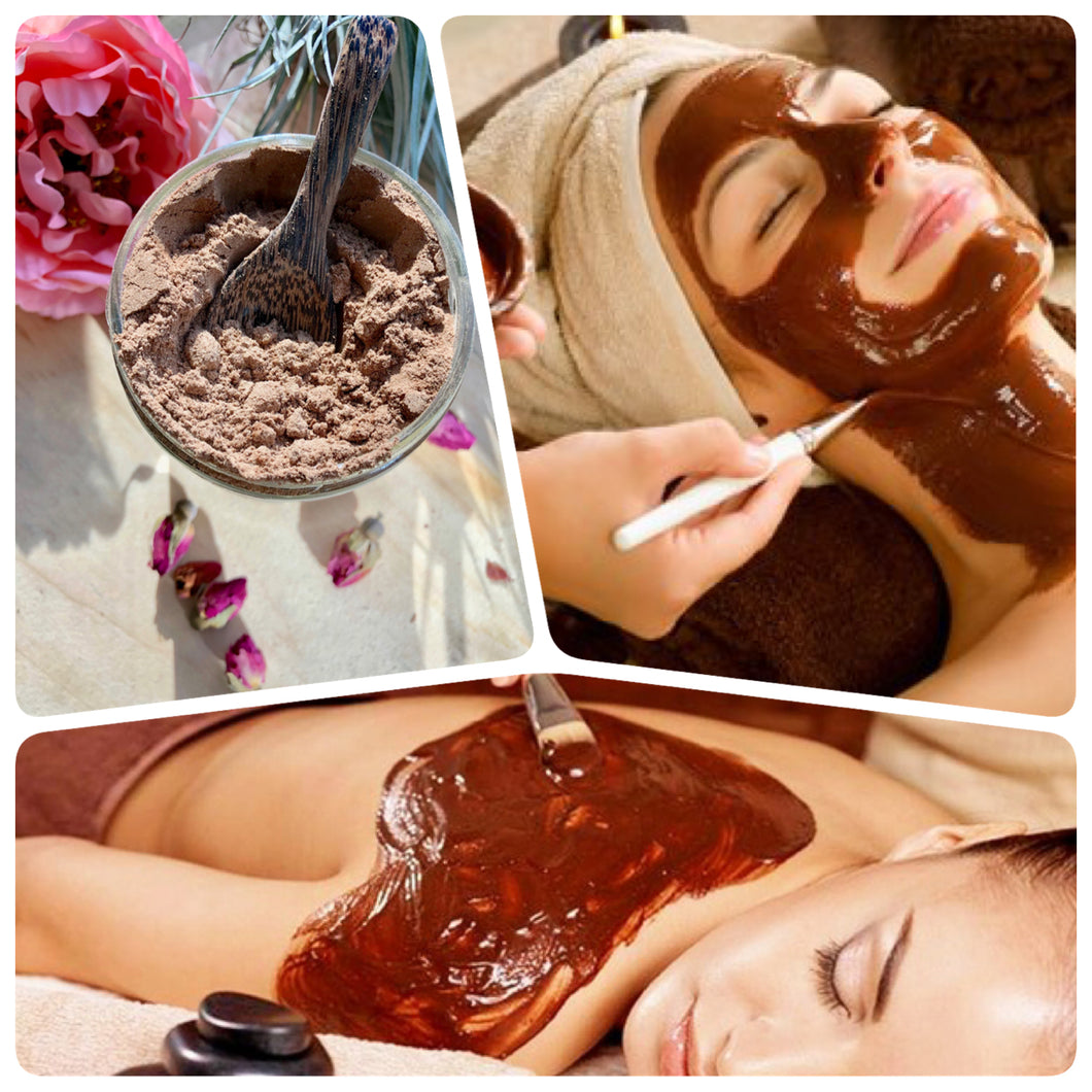 Clay Mask - Chocolate Banana Firming Mask