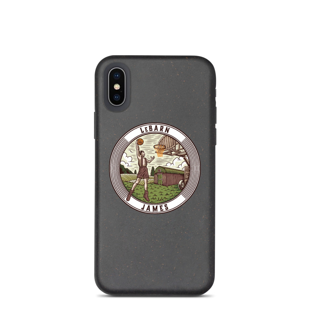LeBarn James iPhone Case (Biodegradable)