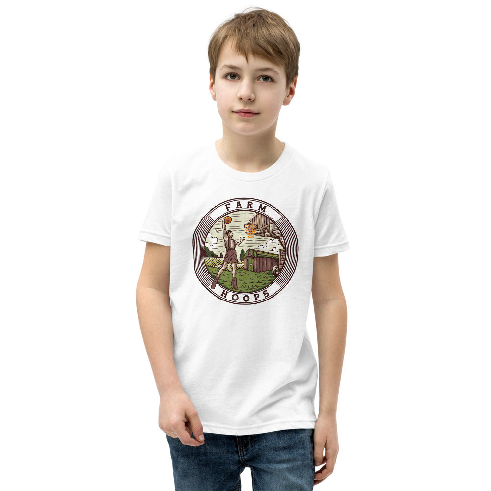 Farm Hoops T-Shirt for Boys and Girls