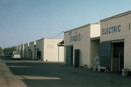 Fender electric instruments factory
