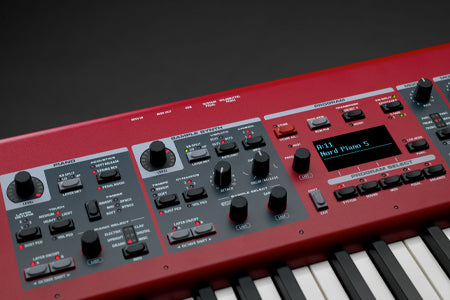 nord piano 5 synth sectie