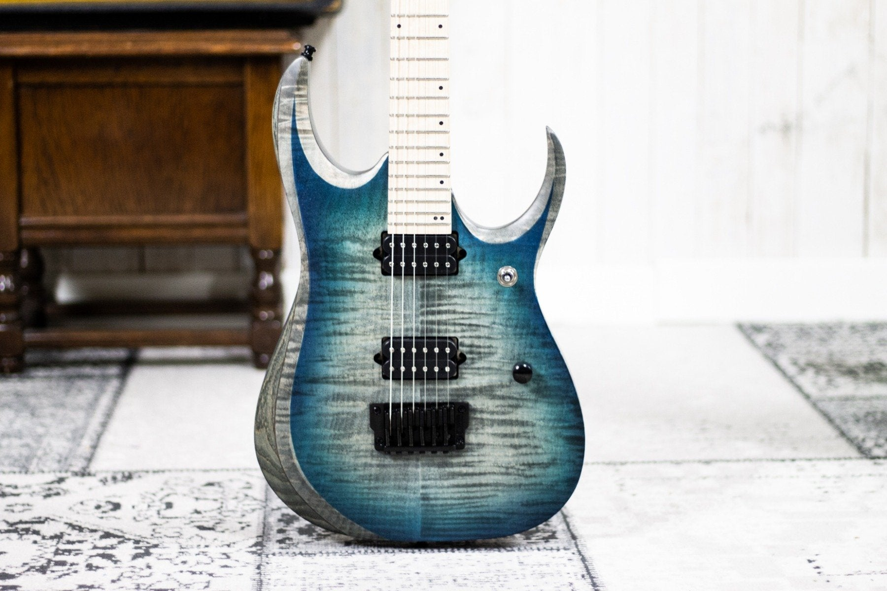 Ibanez RGD61AL-SSB Stained Sapphire Blue Burst (5456858022052)