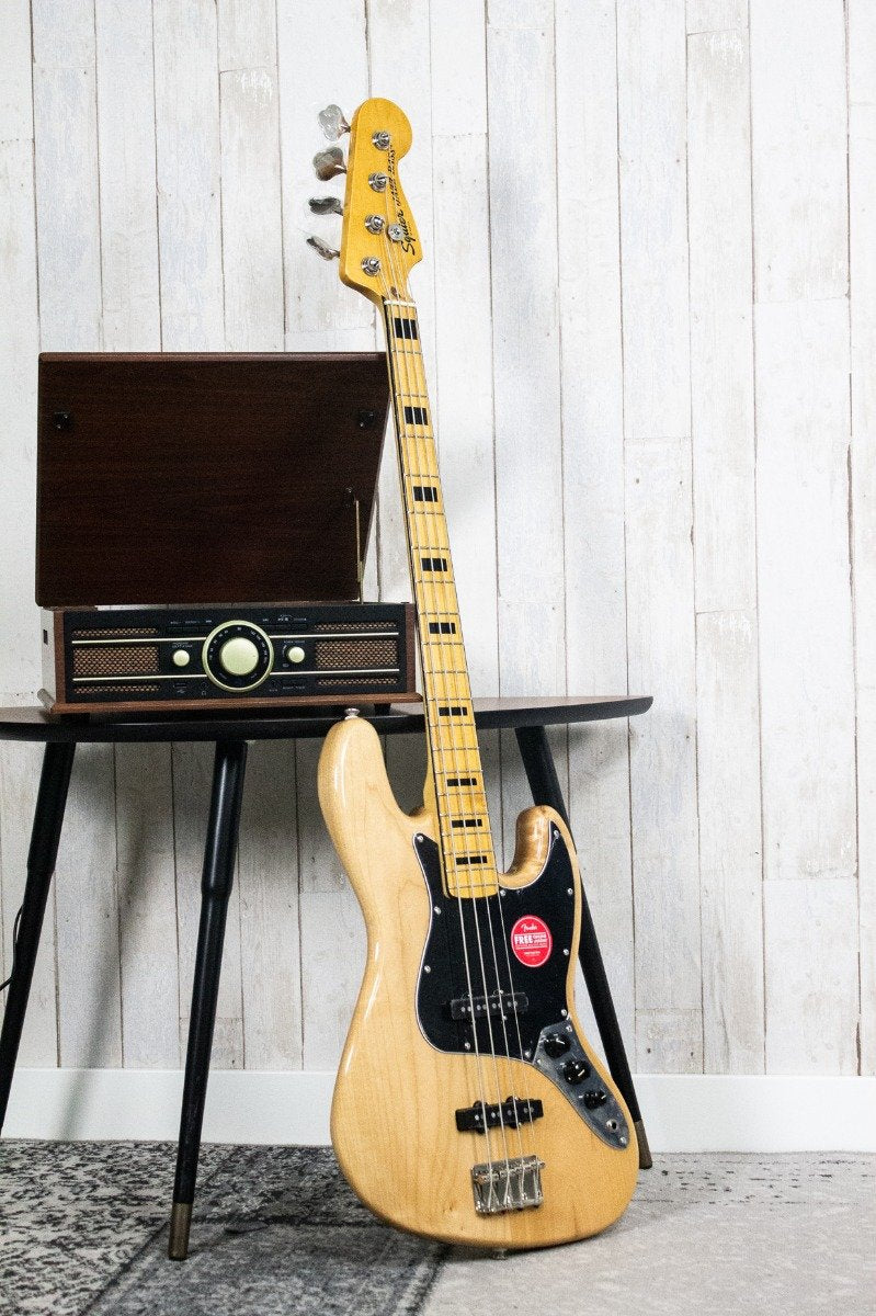 Squier Classic Vibe '70s Jazz Bass Naturel (5403580924068)