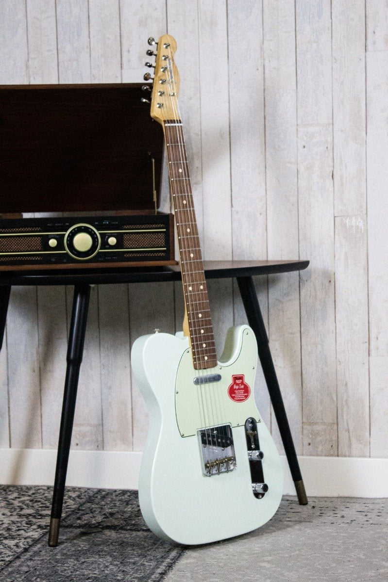 Fender Classic Player Baja '60s Telecaster Faded Sonic Blue PF (5477823086756)