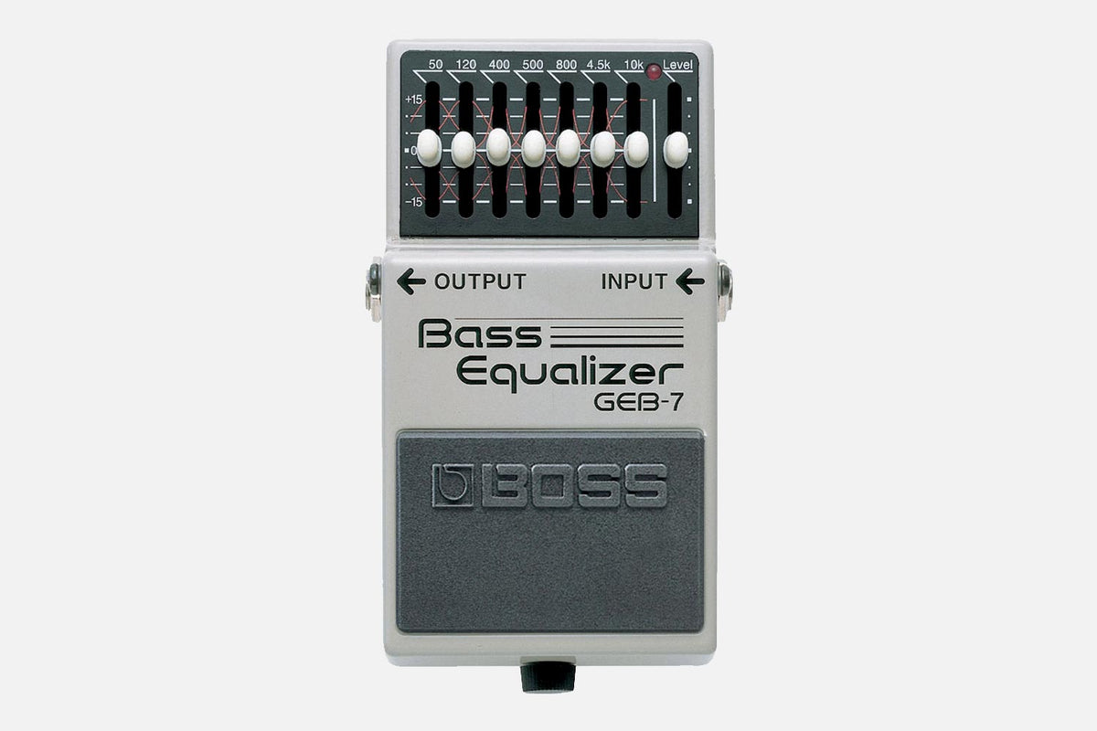 Boss GEB-7 Bass 7-Band EQ