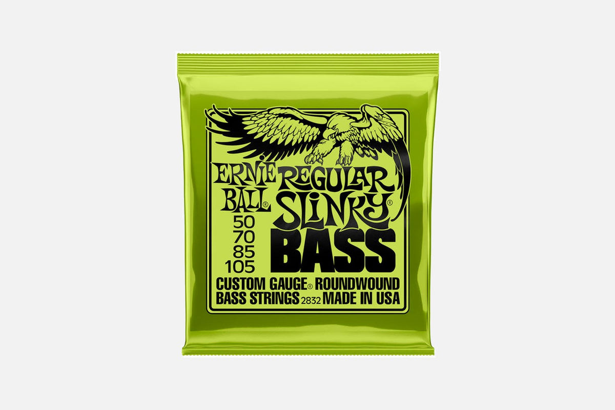 Ernie Ball 2832 Nickel Regular Slinky 050-105 (5274401931428)
