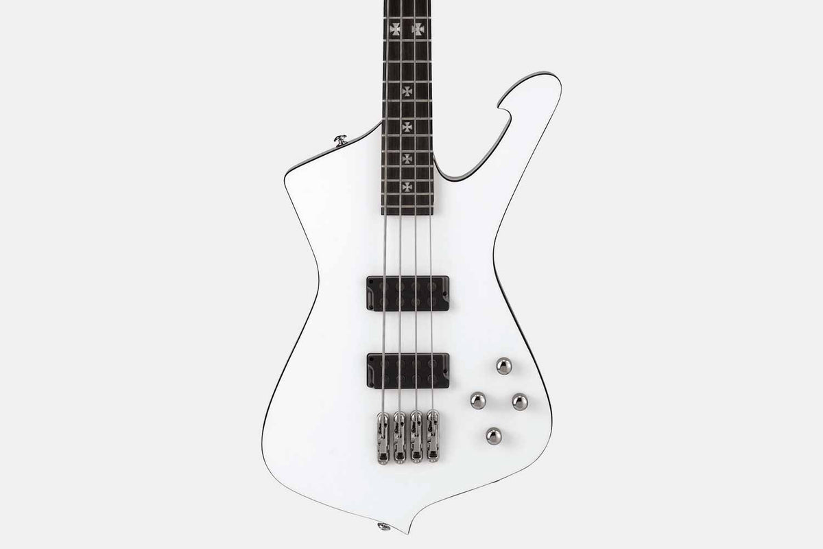 Ibanez SDB3-PW Sharlee D'Angelo Signature Model Pearl White