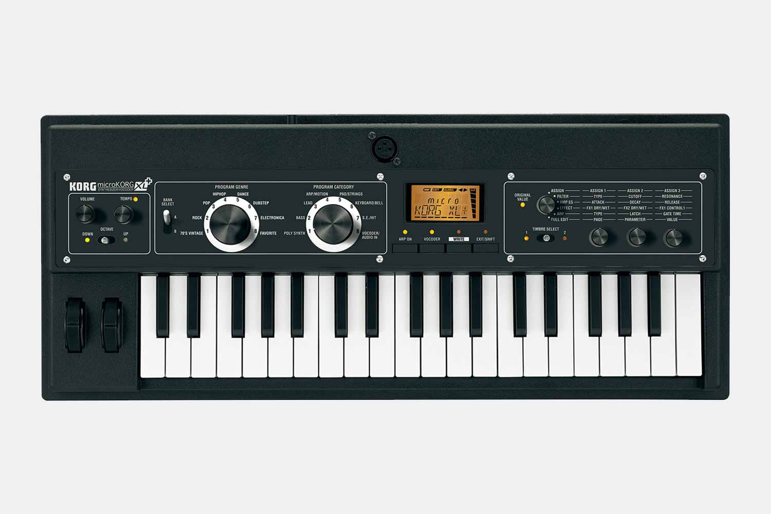 Korg Microkorg XL + synthesizer (5424646062244)