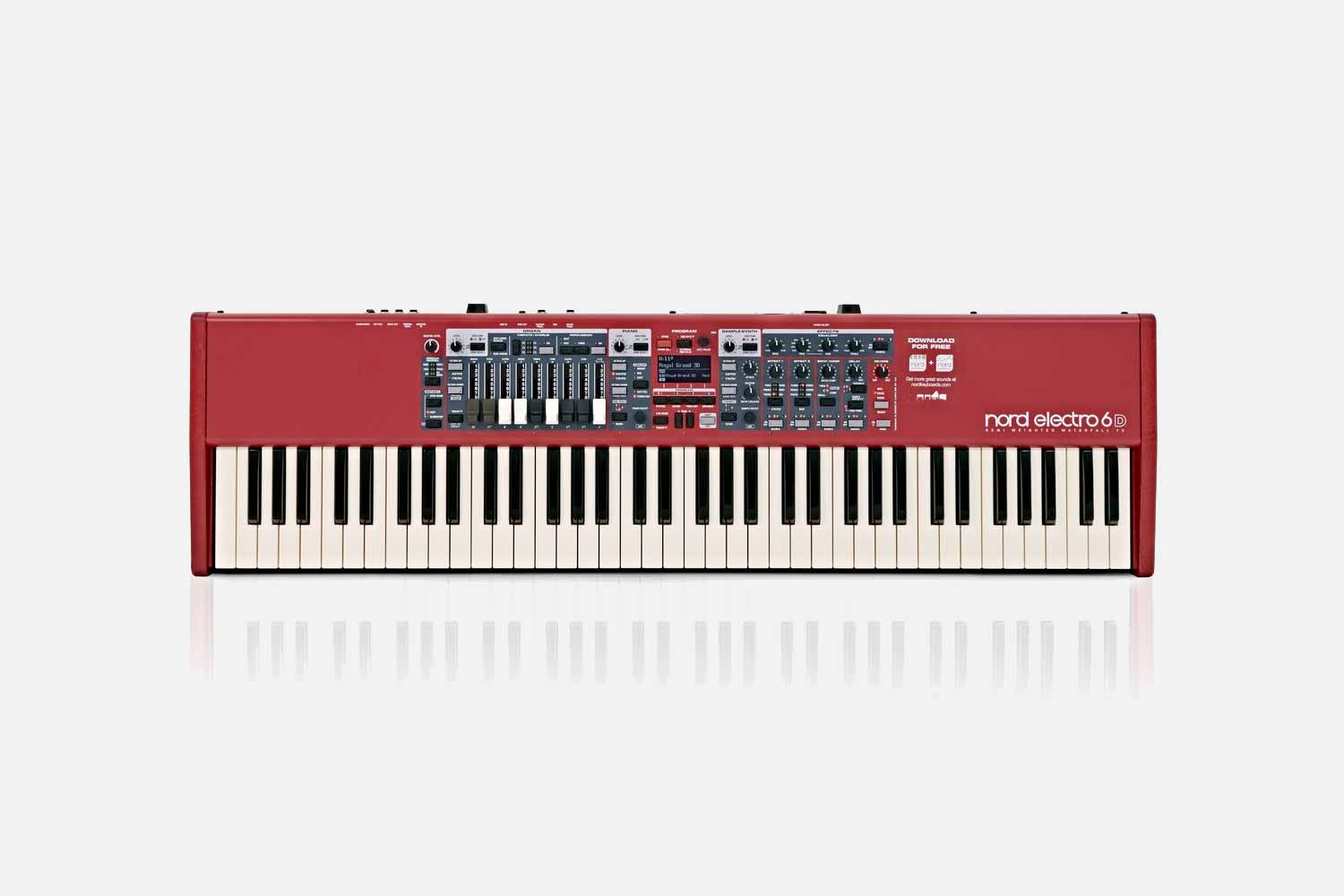 Nord Electro 6D - 73 SW Synthesizer (5424861315236)