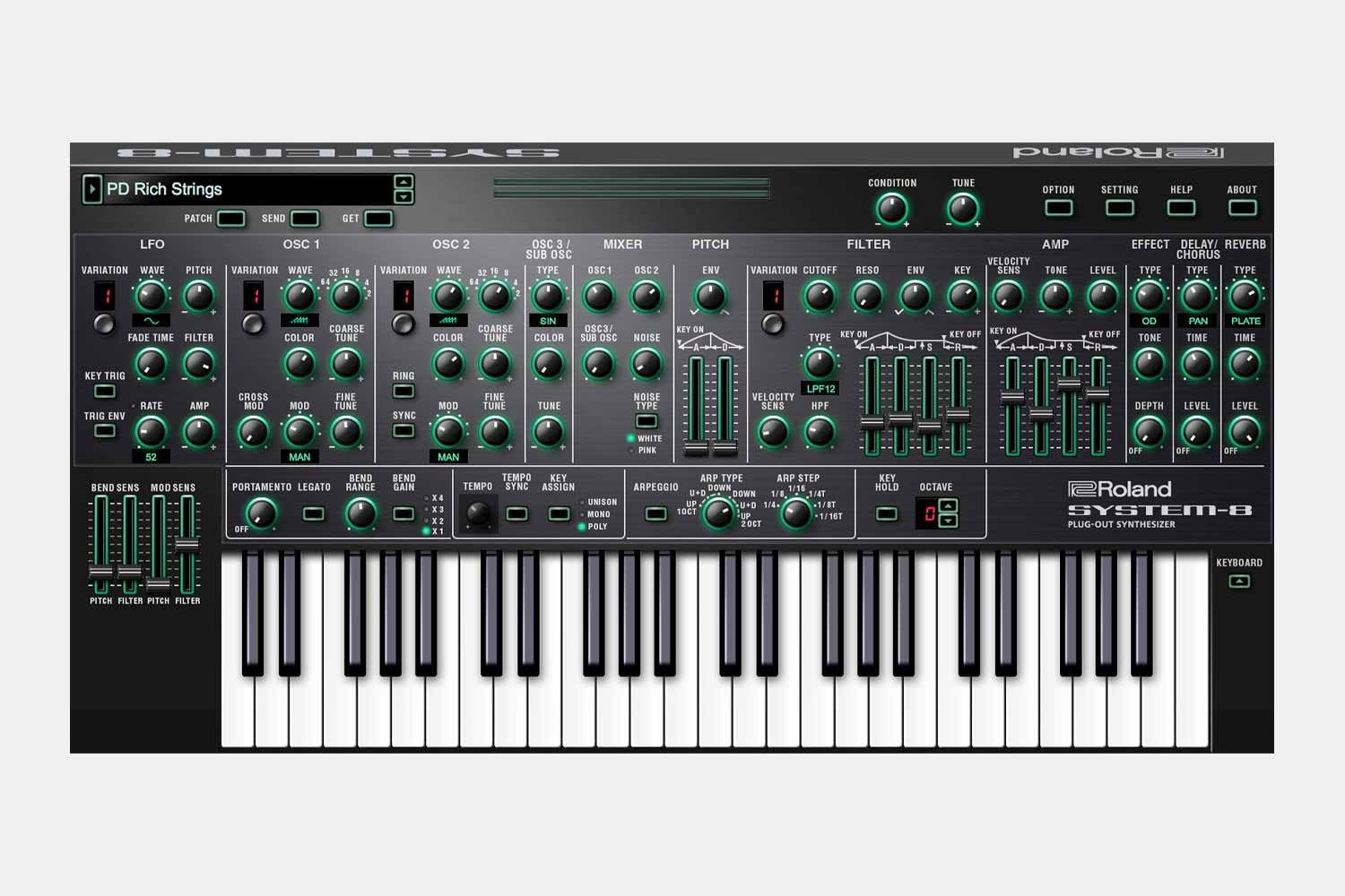 Roland System 8 Synthesizer (5424921182372)