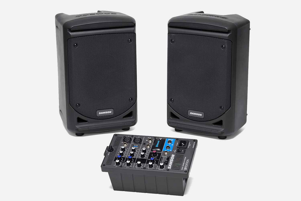 Samson XP300 - 300-Watt Portable PA