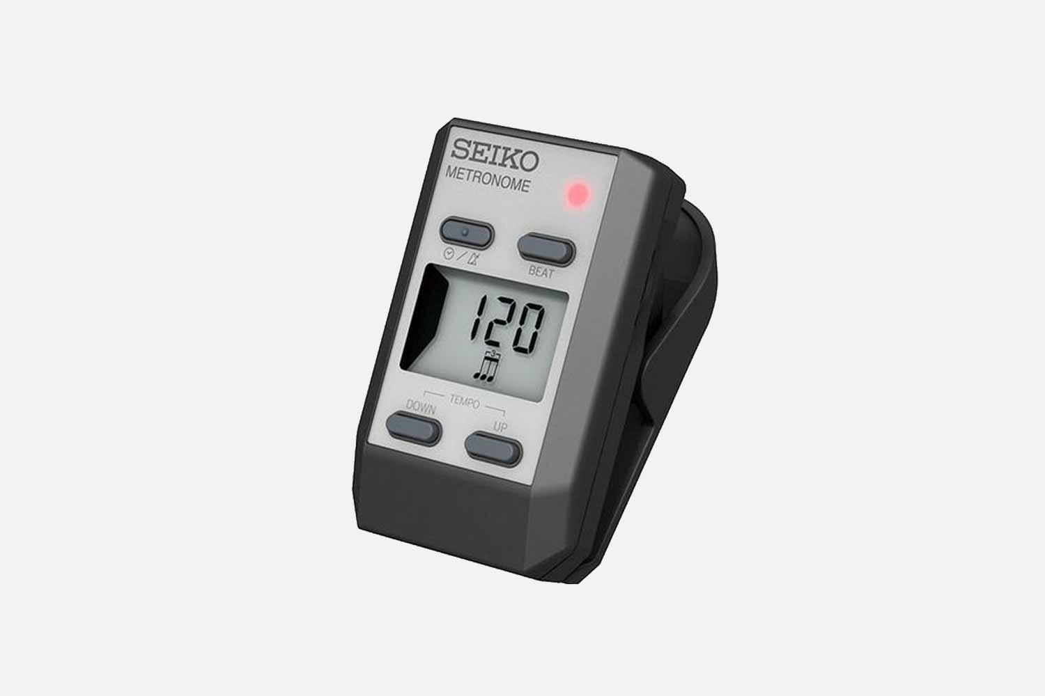 Seiko DM-51 Digitale Clip-On Metronoom Zilver (5433876578468)
