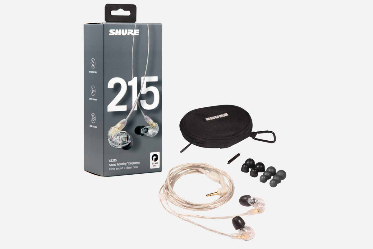 Shure SE215CL In-Ear Monitor drivers