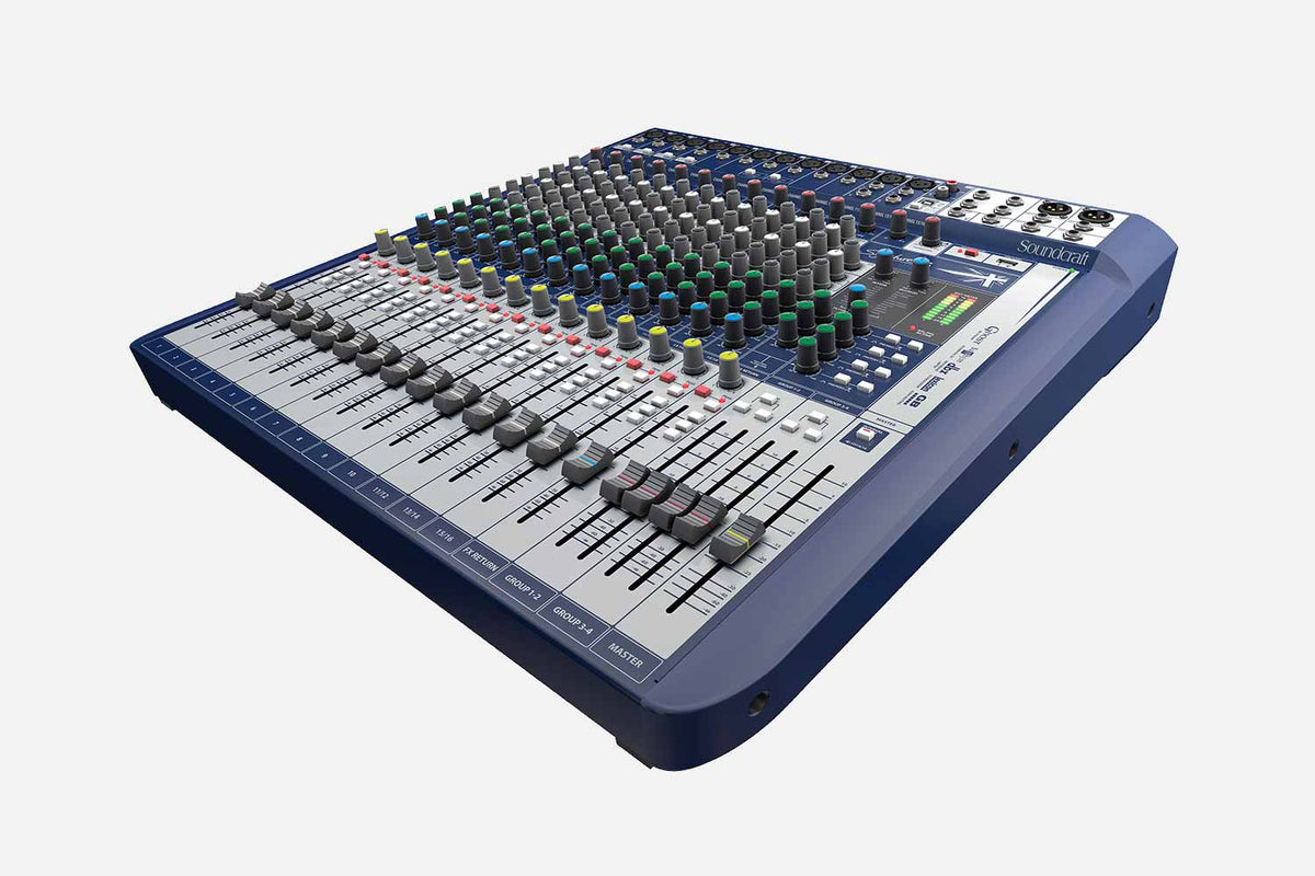 Soundcraft Signature 16 mengpaneel (5370137477284)