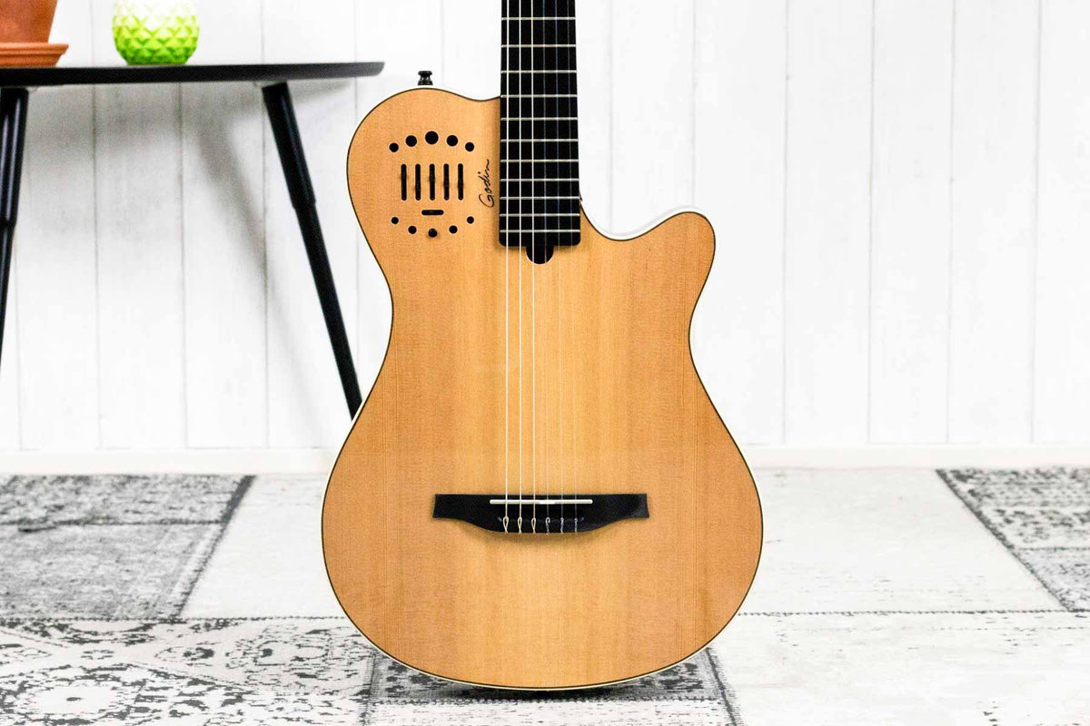 Godin Multiac Nylon String Natural HG (5274632585380)