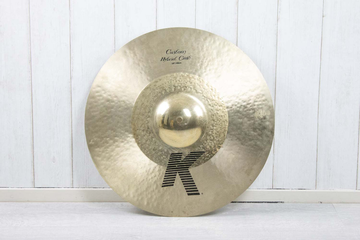 Zildjian K Custom 19'' Hybrid Crash bekken