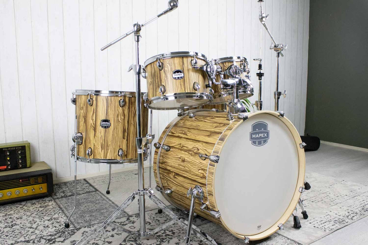 Mapex Mars Driftwood Drumset incl hardware (5463323476132)