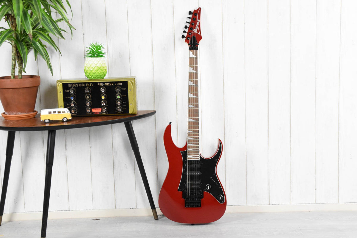 Ibanez RG550DXRR - RG Genesis Collection - Ruby Red