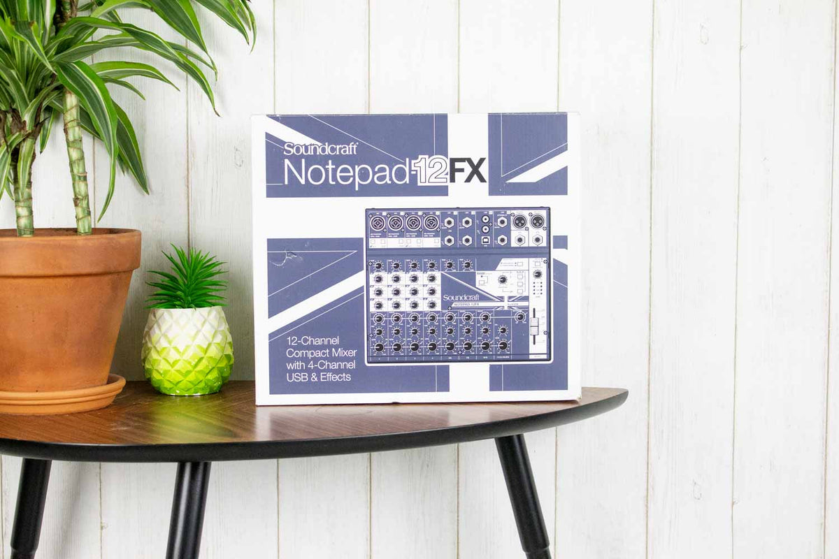 Soundcraft Notepad-12FX mengpaneel (5369797378212)