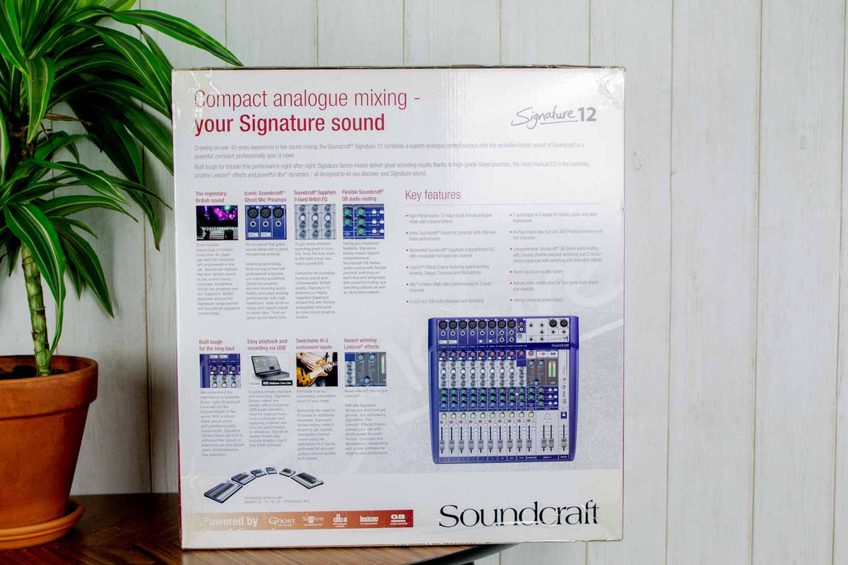 Soundcraft Signature 12 mengpaneel (5369809207460)