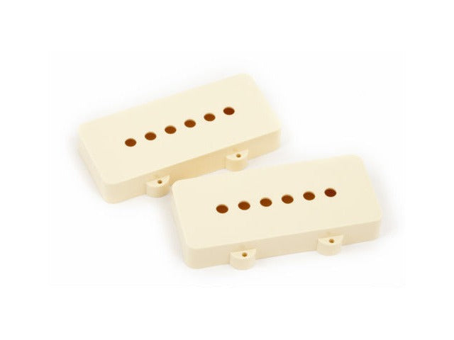 Pickup cover for Jazzmaster®, aged white, plastic (2) - plastic Fender