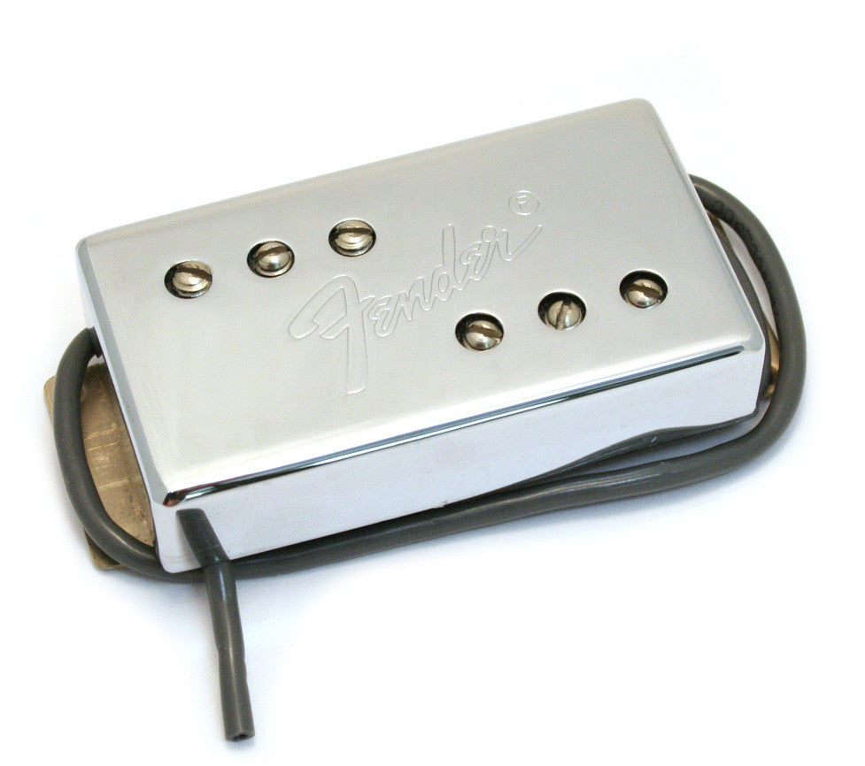 Pickup, Tele® Wide Range Humbucker, Neck, Chrome - genuine Fender