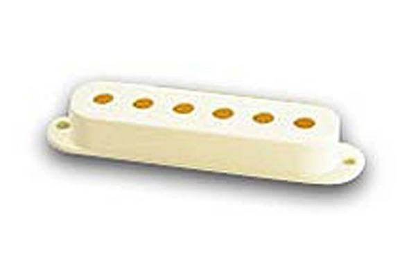 Pickup cover for Stratocaster®, aged white, plastic, each - genuine Fender