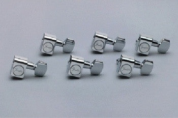 American Standard Stratocaster®/Telecaster® Tuning Machines set (6) - Genuine Fender®