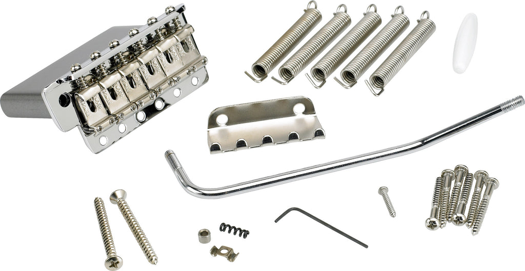 Guitar bridge / tremolo assembly  - American Vintage Stratocaster® - Chrome - Genuine Fender®