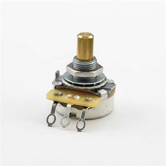 Potentiometer - 250K audio taper pot CTS solid shaft