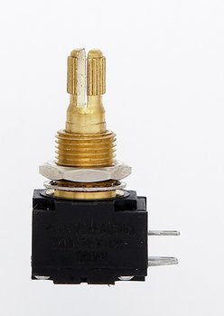 Potentiometer - 500K audio taper pot - Bourns 500 Premium series - split shaft