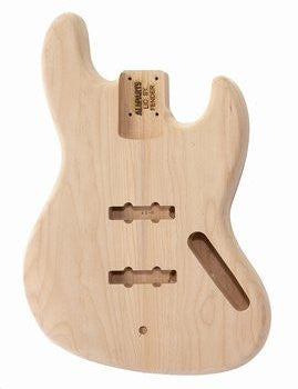 Bass body - replacement body for Jazz Bass® - no finish - Alder