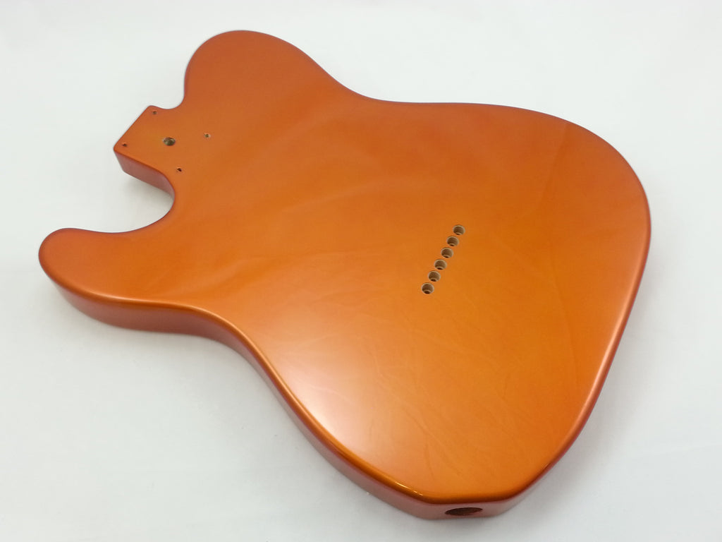 Guitar body - finished replacement body for telecaster® - candy apple orange