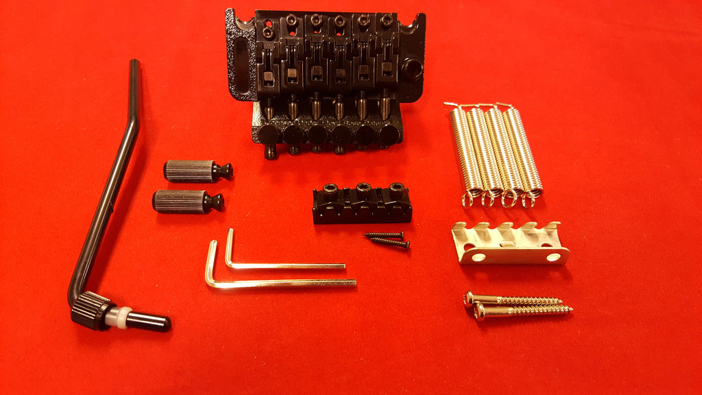 Locking tremolo system  w 1-5/8 inch nut