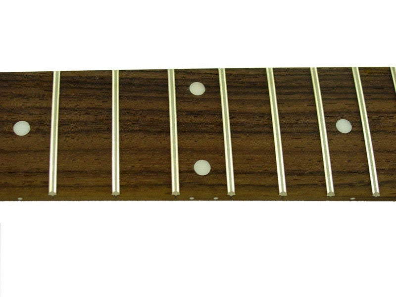 Fingerboard for bass w dot inlays - fretted