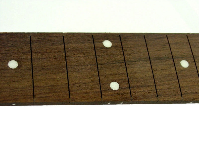 Fingerboard for guitar w dot inlays - no frets