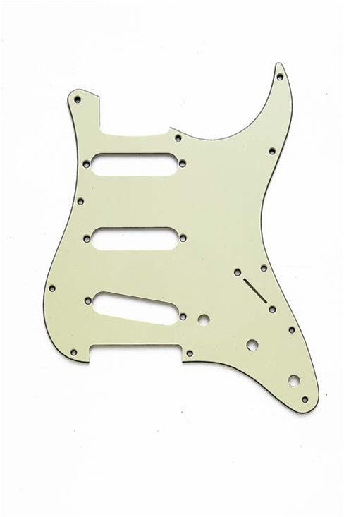 Pickguard for Strat - 11 screw holes - 62 hole pattern