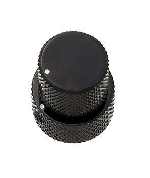 Concentric stacked knob set - flat top - for EMG pots